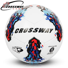 Official Size 5 Soccer Ball PU Leather Football Ball With Feather Pattern For Refeere Macth Soccer Training Equipment With Gifts(China)