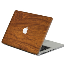 "Brown wood grain Laptop Decal Sticker Skin For MacBook Air Pro Retina 11"" 13"" 15"" Vinyl Mac Case Notebook Body Full Cover Skin"