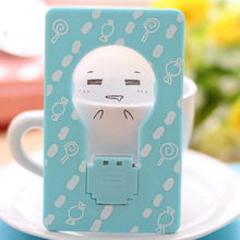 2017  Creative Multi-style Pocket Card Light Mini Portable Credit Card Size Light Gift Wireless Light  With Button Cell Battery
