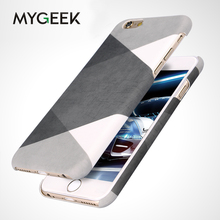 MyGeek Anti-knock Plastic Case Cellphone Phone Case for iPhone 5 5s SE 6 6s 7 Plus cellphone Cover with fashion image(China)