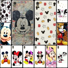 Mickey Mouse and Donald Duck Hard White Cover Case for Lenovo S90 S60 S850 & Nokia 535 630 640XL & Sony Z3+ 3 2