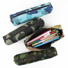 2 PCS Camouflage Pencil Case for Boys and Girls School Supplies Zipper Pouch 4 Colors Pencil Bag