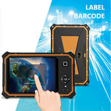 "IP67 Rugged Tablet PC Extrem Waterproof Android 2D Barcode Scanner active pen stylus 8"" netbook GNSS GPS UHF RFID 3G mini pad(China)"