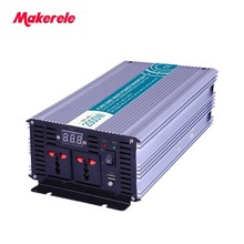 2000w solar inverter 24v 110 MKP2000-241 Fan Cooling off grid Output Waveform pure sine wave USB Output 5V 500mA Makerele(China)
