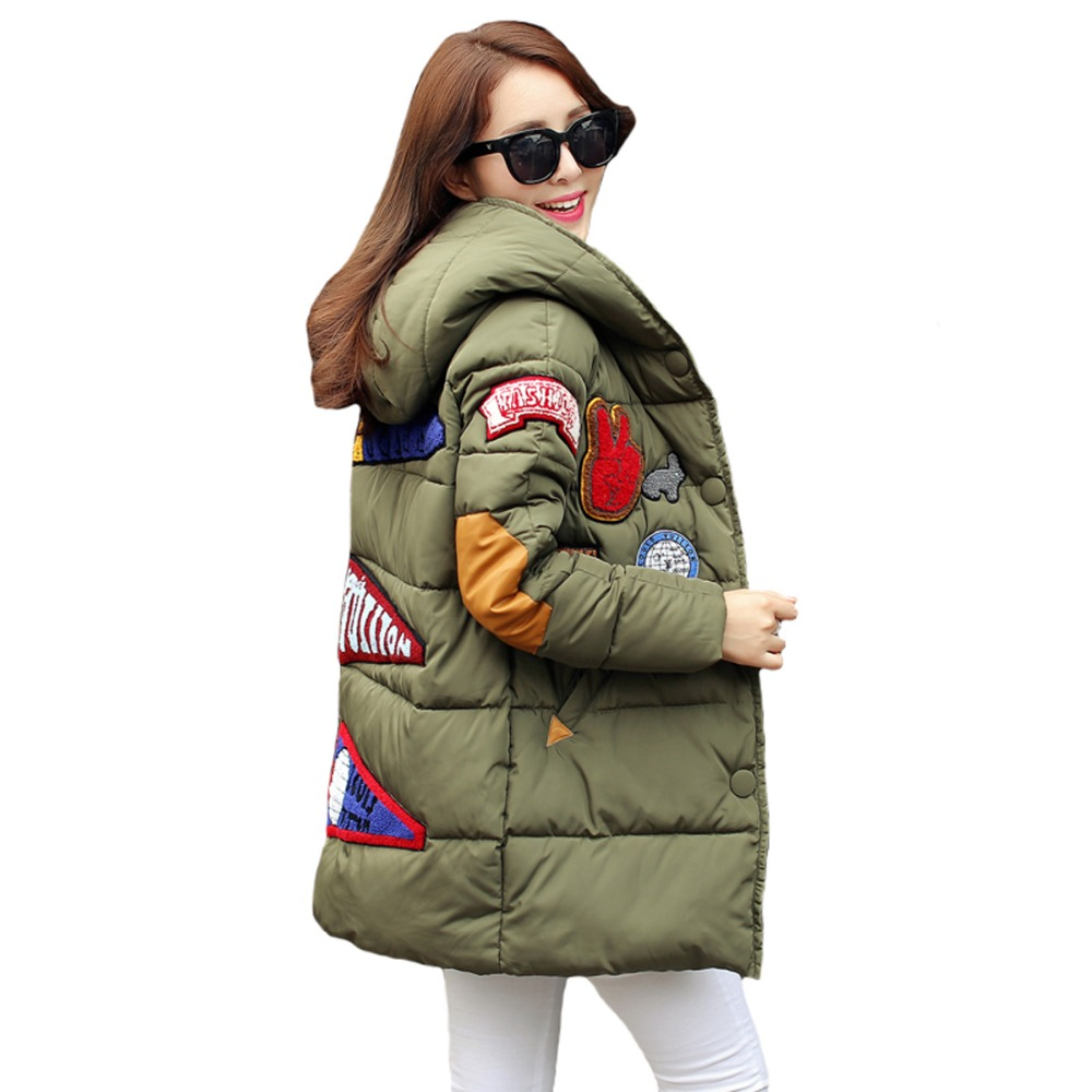 Tengo Women Warm Cotton-padded Female Long Winter Jacket Cotton Outwear CoatОдежда и ак�е��уары<br><br><br>Aliexpress