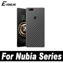3D Carbon Fiber Back Cover Protective Film ZTE Nubia X M2 Lite V18 Z17S Z17 Z11 Z18 mini S miniS Rear Screen Protector