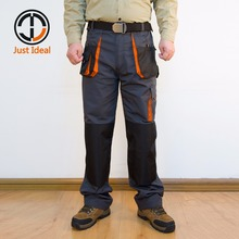 Mens Cargo Pants Canvas Hard Wearing Work Trousers Multi Pocket Oxford Waterproof Casual Pant Brand Clothing European Size ID617(China)