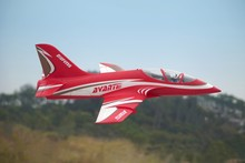 FMS RC Airplane Avanti Red 70mm Ducted Fan EDF Jet High speed Big Scale Model Plane Aircraft PNP 6S Wingspan 900mm with Retracts
