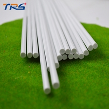 5mm architectural model making  DIY sand table model material model round rod ABS rod sticks plastic solid rod