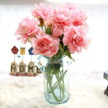 Hot Pink Artificial Fake Flowers Peony Bouquet Floral Wedding Bouquet Party Garden Office Coffee House Home Decor nt0