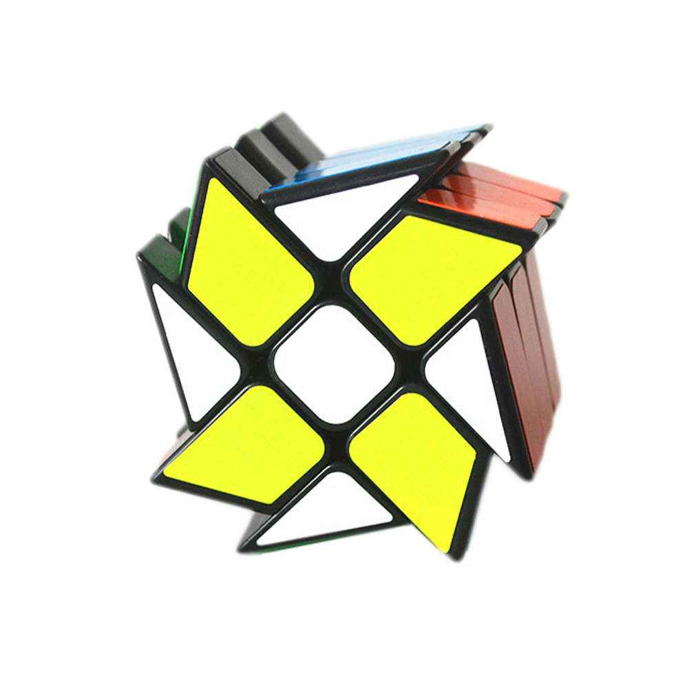 Wind Fire Wheel Windmill third-order shaped cube creative decompression gift fidget cube