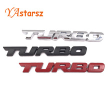 3D Car Emblem Sticker TURBO METAL GRILL Rear Trunk Badge Audi BMW Ford focus VW skoda seat Peugeot lada Renault Hyundai - YAstarsz Store store