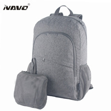 NAVO 2017 New Womens Men Casual Nylon Backpack Folding Backpack Fashion Durable School Bag Rucksack Travel Bags Mochila