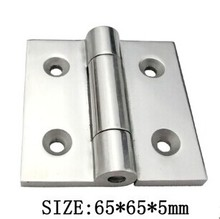 Corrosion resistant electric cabinet hinge side yacht hinge for high iron stainless steel hinge 316 stainless steel hinge subway(China)