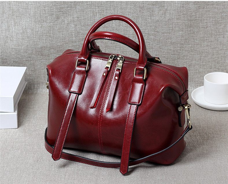 Real Cow Leather Ladies HandBags Women Genuine Leather bags Totes Messenger Bags Hign Quality Designer Luxury Brand Bag 2017