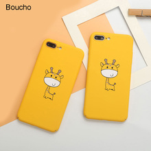 Buy Boucho Cute Cartoon Fawn Painting Phone Case iphone X 7 8 plus 8plus 7plus Cases Hard PC Back Cover iphone 6 6s Plus X for $2.17 in AliExpress store