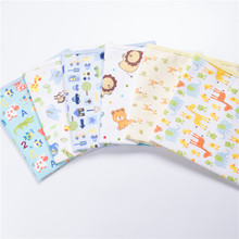 Newborn Baby Changing Pad Infant Child Bed Waterproof Cloth Diaper Inserts Crib Reusable Cotton Durable Washable Urine Mat Cover(China)