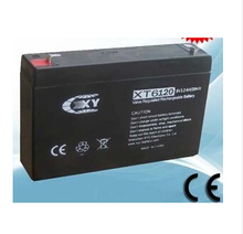 Free shipping 6V 12AH lead acid battery rechargeable battery Children's electric car battery