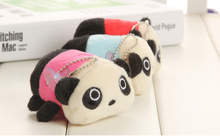 20pcs Kawaii NEW Panda 8*5CM Plush Stuffed TOY DOLL , Small Phone Charm Strap Pendant Lanyard DOLL , BAG Key Chain TOY