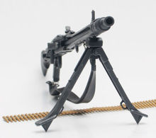 "1:6 Scale Dargon Toy Guns Weapons WWII German MG42 Machine Model Toys For 12"" Action Figure Accessory"