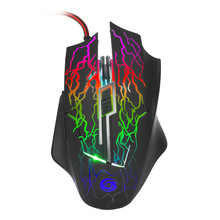 Best Price 2400 DPI 6D Buttons LED Wired Gaming Mouse For PC Laptop(China)