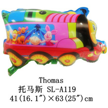 2016 foreign trade money recommends hot style!Cute cartoon balloon wholesale children's toys Thomas train