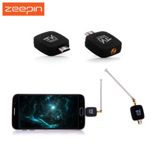 Zeepin Micro USB DVB - T TV Tuner Receiver Stick for Android Smartphone Tablet PC with Dual-core CPU and DVB-T TV Fuction(China)