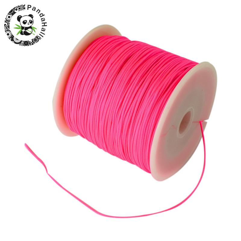 0.8mm 90m/roll Nylon Thread Cord For Bracelets Beading Necklace Jewelry DIY Accessories Making 9