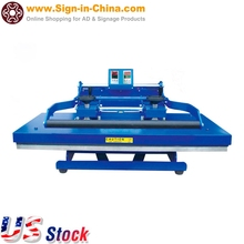 "US Stock 20"" x 39"" Clamshell Digital Manual Heat Press Machine for for transferring T-shirts / bags / pillowcase / mouse pad"