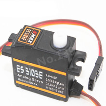 EMAX Servo ES3103E Torque 2.5kg 17g Upgrade ES3103 Analog Mini Gear High Speed Servo 4.8V-6V RC Helicopter RC Plane RC Airplane(China)