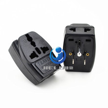 2016 1 TO 3 EU UK AU to US AC Power Plug Home Travel Converter Adapter Adaptor EU/US EURO Europe Wall charger Jack Connector(China)