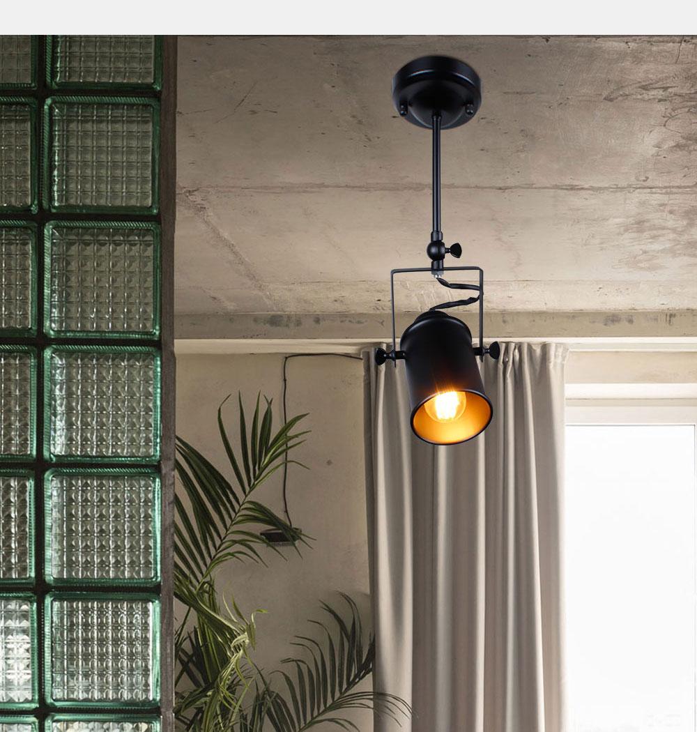 Industrial Pendant Light Vintage Loft pendant light Spotlights American pendant Lamp LED Lamp Restaurant cafe bar decoration 3