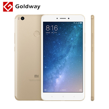 Original Xiaomi Mi Max 2 4GB RAM 128GB Mobile Phone Snapdragon 625 Octa Core 6.44 inch Big Screen 5300mAh Battery Fingerprint ID - Hong Kong Goldway store