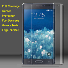 Full Coverage Clear Soft TPU Film Screen Protector For Samsung Galaxy Note Edge N9150, Cover Curved Parts (Not Tempered Glass)