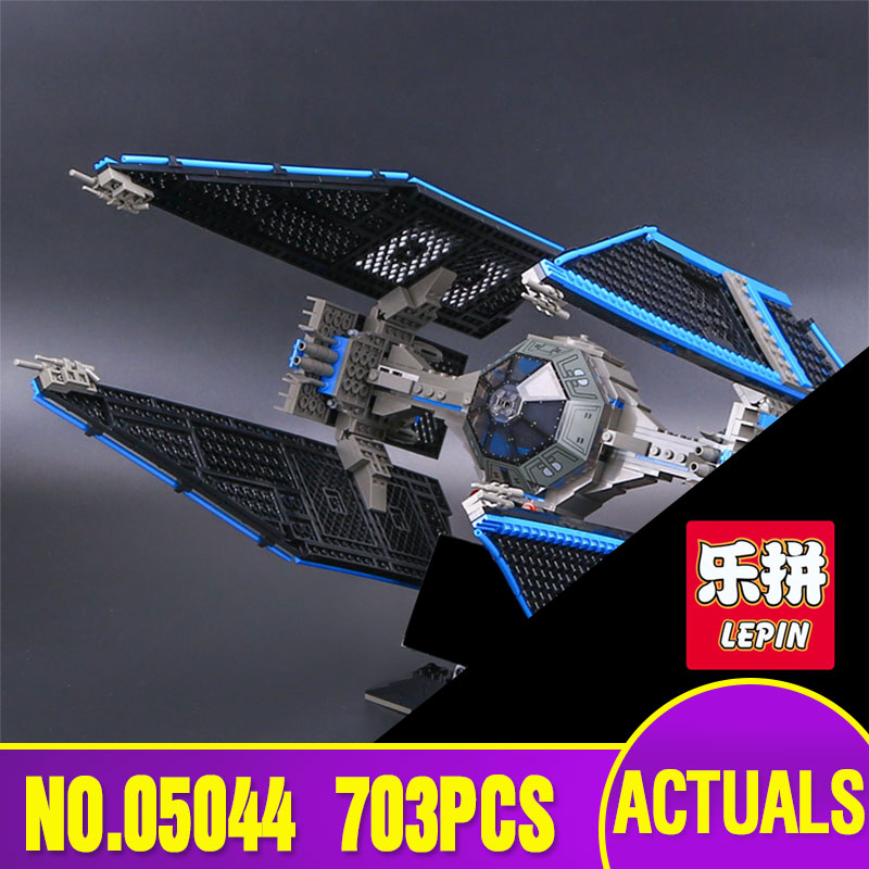 New Lepin 05044 Star Series Limited Edition 703pcs The TIE Interceptor Educational Bricks Model Wars Toys 7181 Building Blocks<br>