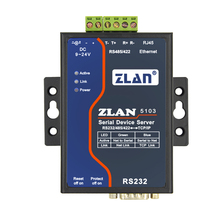 Serial port server, RS232/485/422 to Ethernet, serial port to RJ45, equipment networking, ZLAN5103(China)