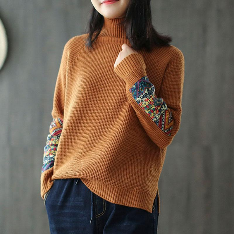 New_Half_Turtleneck_Long_Sleeve_Patchwork_Sweater_4_800x