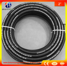 Biggest manufacturer in China 32mm high pressure hydraulic rubber hose/ wire braided rubber hose for Excavator(China)