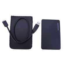 "Black 2TB Mobile HDD Enclosure Case 2.5""inch USB 3.0 to SATA HDD Hard Drive External Enclosure Case High Quality HDD Box"