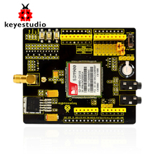 Free shipping! Keyestudio SIM900 GSM GPRS module shields for Arduino wireless module with extension wire(China)