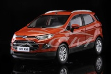 Diecast Car Model Ford Ecosport SUV 1:18 (Orange) + SMALL GIFT!!!!!!!!