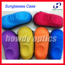 Lovey Colorful Shoes Shape Of Sunglass Case Kids Children Eyewear Eyeglasses Sunglasses Zipper Hard Case Box Free Shipping(China)