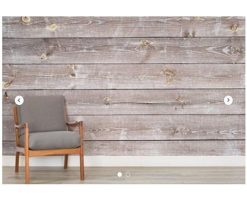 Custom texture wallpaper,Coastal Weathered Wood Wall Mural for living room bedroom bar KTV office wall decoration wallpaper<br>