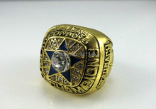 Free shipping 1971 Dallas Cowboys Fan Apparel Souvenirs ring size 10 Weight 80g champions(China)