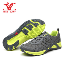 Brand XIANGGUAN 97102 Breathable Running Shoes Men Sneakers Women Sport Shoes Athletic Outdoor Original shoes For Hombre Mujer(China)