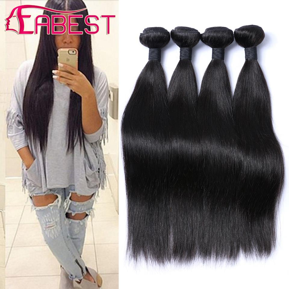 Malaysian Straight Hair 6a Human Hair Bundles Remy Human Hair Weave 4 Bundles 100 Human Hair Sew In Extensions Dropship Products<br><br>Aliexpress