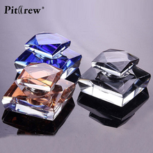 2017 New Luxury Artificial Crystal Car Perfume Seat Interior Decoration Air Freshener Car Accessories Ornament Randomly Color(China)