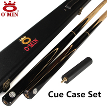 OMIN Brand Billiard pool Cue, Cue tip 9.8-10mm, 145cm, Ash wood, Handmade 3/4 Snooker stick, High Quality, Free shipping