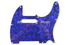 Niko Pearl Blue 4 PLY Electric Guitar Pickguard For Fender Tele Style Electric Guitar Free Shipping Wholesales(China)