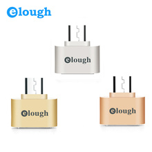 Elough Hot Selling Fun Mini Micro USB OTG Adapter Camera MP3 Converter OTG Cable For Samsung Xiaomi Sony LG Android Microusb OTG